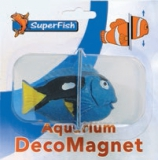 SuperFish Blaufisch Deko Magnet
